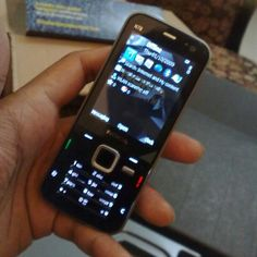 Nokia N78, which I won from Nimbuzz