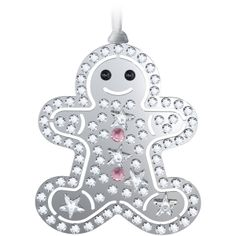@Swarovski Sparkling Gifts: Gingerbread Ornament #Moments2Give