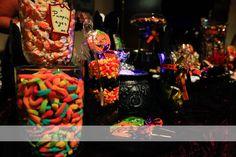 spooky halloween mitzvah candy bar