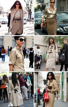 Need to adopt- # How Giovanna Battaglia Wears Neutrals