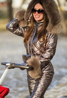 Winter Outfits, Summer Outfits, Cute Outfits, Ski Fashion, Winter Fashion, Ski Jumpsuit, Down Suit, Winter Suit, Winter Jackets Women