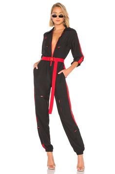 Shop for I.GIA Boiler Suit in Black at REVOLVE. Free day shipping and returns, 30 day price match guarantee. Stylish Outfits, Cute Outfits, Boiler Suit, Black Jumpsuit, Suit Fashion, New Wardrobe, Sport Outfits, Jumpsuits For Women, Playsuit