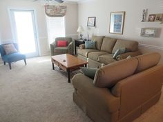 Living Area on 4th Floor - Cape San Blas townhome rental