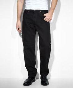 550™ Relaxed Fit Jeans - Black - Levi's - levi.com