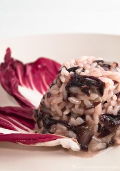 #Carnaroli rice is perfect to make the Radicchio and red wine risotto. #Passion #Italy