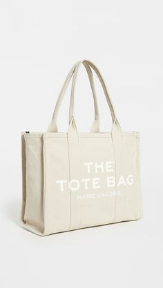Best Beach Bag, Designer Totes, Designer Tote Bags, Marc Jacobs Tote, Accesorios Casual, Luxury Bags, Large Tote, Canvas Tote Bags, Purses And Bags