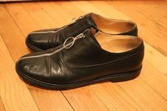 Maison Margiela Zip Up Oxford Shoes Size 8 $300 - Grailed