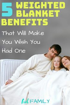 Weighted blankets are so beneficial. The benefits are many, in some ways like receiving a deep tissue massage. And they're safe for the entire family - adults and children alike. Check out the top 5 reasons why every family should own them. Insomnia In Children, Insomnia Help, Weighted Blanket Diy, Weights Workout For Women, Massage, Restless Leg Syndrome, Good Sleep, Sleep Better