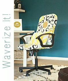 Great Tutorial For Refurbishing A Swivel Office Chair! | Your Best DIY  Projects | Pinterest | Swivel Office Chair, Tutorials And Craft
