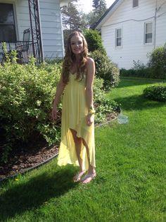 Hayley 2014 Prom