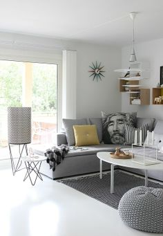 Nordic Leaves living room.