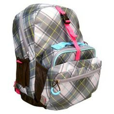 Embark Combo Grey Plaid