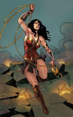 DC COMICS: Wonder Woman by Karolding