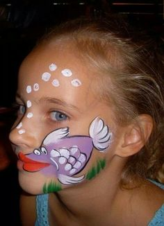 Easy halloween face painting ideas for cheeks can help you in adding so much fun to any party. Face painting is a very good as well as fun way Girl Face Painting, Face Painting Designs, Painting Patterns, Painting For Kids, Paint Designs, Body Painting, Animal Face Paintings, Animal Faces, Mime Face