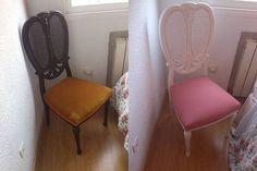 Tutorial paso a paso para retapizar una silla. ¡Es muy fácil!