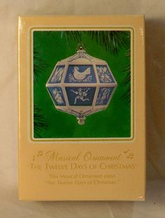 Twelve Days of Christmas Musical Ornament 1983  by TheOrnamentGuys, $39.99