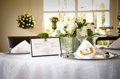 Detalhe mesa convidados Chanel