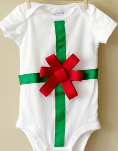 Christmas Baby Onesie First Christmas Outfit by nolaonesie on Etsy, $25.00 Christmas Onesie, Baby Christmas Gifts, Babies First Christmas, Family Christmas, Christmas Clothes, Christmas Outfits, Diy Christmas, Holiday, Sewing For Kids