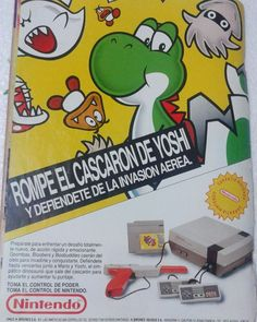 "Shared by rod980 #nes #microhobbit (o) http://ift.tt/1WEQBtj ad in Spanish for the Nintendo Entertainment System and the puzzle game ""Yoshi"" in a magazine in 1992. The main text says something like ""Break Yoshi's egg and defend yourself from the invasion coming from above."" #retrogaming #nintendo #videogames #videojuegos #gameroom #retrocollection #retrogames #retrogamer #gamecollecting #gamecollection collection #8bit #16bit #vintagegaming #oldschoolgaming #myretrogamecollection…"