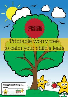 Coping with anxiety is tough for kids - they sometimes needs a little bit of help, and our free printable worry tree could be the perfect solution. Its a great resource, and easy to use. Just write your worry on an apple, and print our our tree so you can banish the worry forever...or at least get your kids to ease it little.