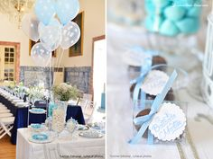 Details for this bird themed baptism party