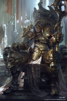 Evil Knight_Poster A, Marat Ars on ArtStation at https://www.artstation.com/artwork/XJaGY
