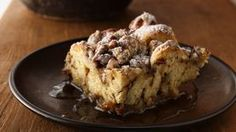 Had at Pam's for Christmas brunch. An easy brunch option that unites refrigerated cinnamon rolls and yummy French toast flavors. Breakfast Desayunos, Breakfast Dishes, Breakfast Ideas, Birthday Breakfast, Breakfast Healthy, Health Breakfast, Breakfast Casserole, Breakfast Recipes, Cinnamon French Toast Bake