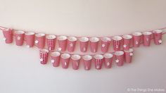 The Things She Makes: Paper Cup Advent Calendar