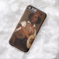 Cute Girl - The Banjo Player Painting Art Barely There iPhone 6 Case