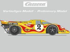 Carrera Digital 124 - The Race of Legends (23616) - Carrera DIGITAL 124 Porsche 917K  Slotracing