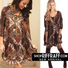 SWEET HONEY PAISLEY DRESS