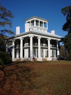 Kirkwood Plantation ~ Eutaw, Alabama.  Love love love driving through Eutaw.  What a beautiful town!