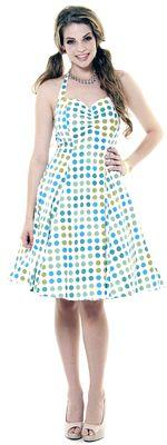 1950's Style Heartbreaker Bee Bop Sweetie Dress - XS-2X
