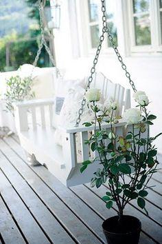 So relaxing - love porch swings