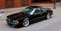 BMW E24 on Porsche wheels