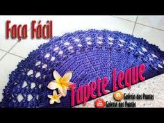 Tapete de Crochê Leque  (FÁCIL) - YouTube