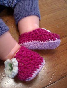 Ravelry: Baby Slippers pattern by Rachel Pascoe