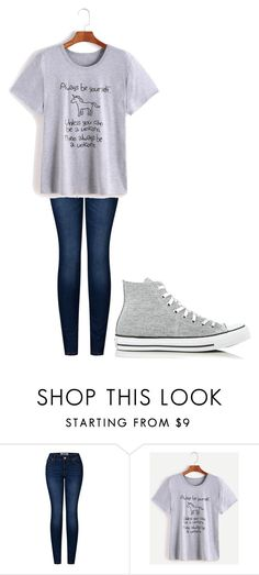 """Untitled #203"" by cruciangyul on Polyvore featuring 2LUV and Converse"