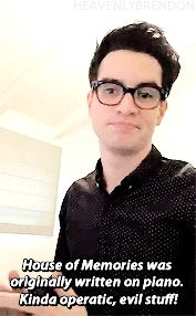 Brendon Urie talks about the recording process of... - stand up sing hallelujah