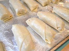 These homemade vegetable egg rolls are stuffed full of cabbage, mushrooms, carrots, and more. Freezer Eggs, Freezer Cooking, Vegetable Egg Rolls, Vegetable Side Dishes, Wine Recipes, Cooking Recipes, Healthy Recipes, Egg Roll Recipes, Good Food