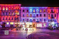 Łódź Poland Light Move Festival Tatra Mountains, Krakow, Warsaw, Poland, Times Square, National Parks, City, Travel, Beautiful