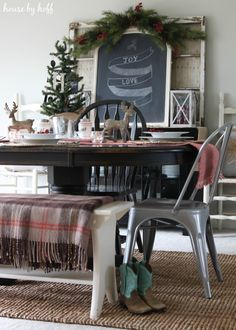 A Very Merry Christmas Holiday Home Tour {Holiday Home Tour Part 1} - House by Hoff