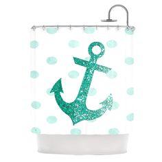 Kess InHouse Robin Dickinson Smitten Blue Teal Round Beach Towel Blanket