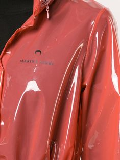 Check out Marine Serre with over 2 items in stock. Shop Marine Serre hooded PVC raincoat today with fast Australia delivery and free returns. Vinyl Raincoat, Pvc Raincoat, Plastic Raincoat, Hooded Raincoat, Imper Pvc, Pvc Fabric, Raincoats For Women, Fabric Manipulation, Shopping