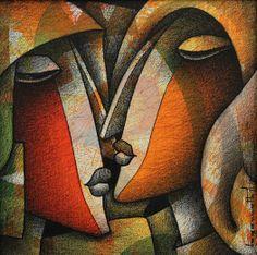 Jagannath Paul born in West Bengal, Jagannath Paul is a Mumbai based artist Buddha Painting, Texture Painting On Canvas, Acrylic Painting Canvas, Art Deco Paintings, Modern Art Paintings, Portrait Art, Portraits, Art Visage, Indian Art Paintings