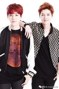 Baekhyun and Luhan