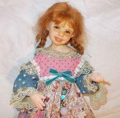 OOAK Redhead Cernit Doll Lili by Evyna