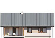 Elewacja tylna projektu Niko Garage Doors, Outdoor Decor, Home Decor, Decoration Home, Room Decor, Home Interior Design, Carriage Doors, Home Decoration, Interior Design