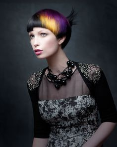 2013 Finalist | HAIRCOLOR: Silas Tsang - To see ALL the NAHA finalists' work, visit www.modernsalon.com/naha