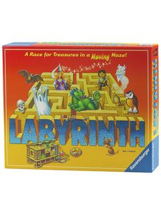 Labyrinth is THE classic Ravensburger game. Playing is easy, just find the shortest route through the a-maze-ing Labyrinth and you'll be the winner. Family Board Games, Family Boards, Board Games For Kids, Games To Play, Puzzle Board Games, Ravensburger Puzzle, Labyrinth Board Game, Tween Boy Gifts, Games